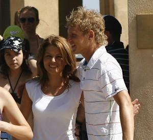Mihai și Maria într-un cantonament spaniol cu Steaua, în iunie 2007