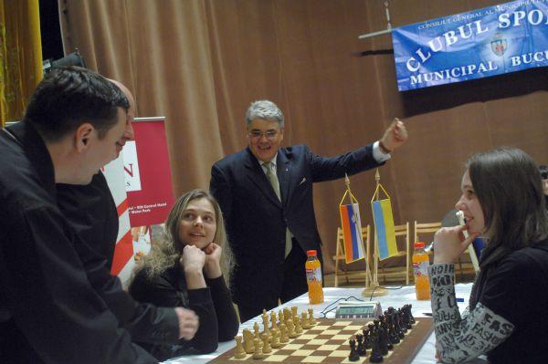 Cea de-a doua editie a Turneului International de Sah Cotroceni 2011.