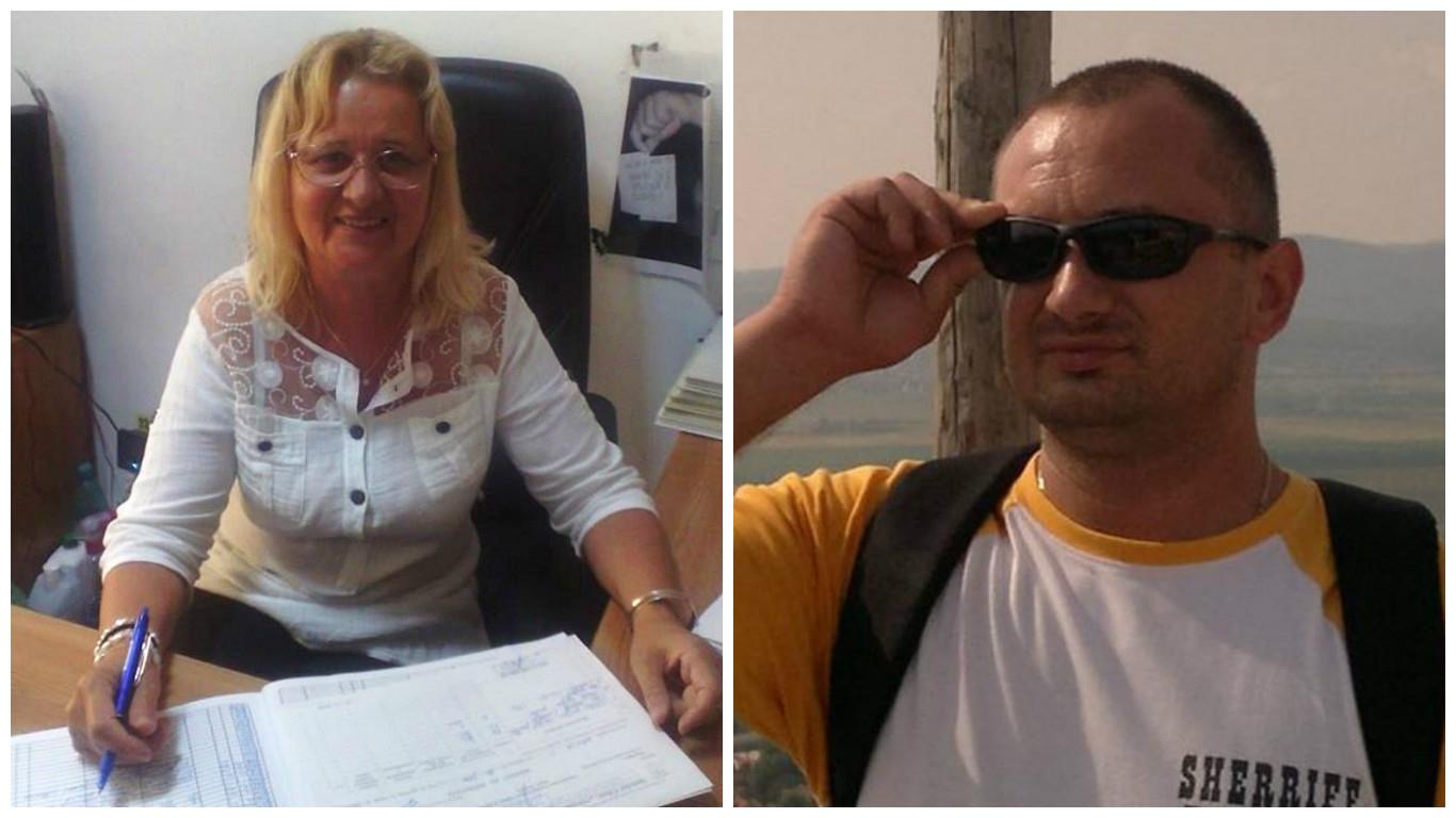 Vasilica Lupișcă, stânga, magazionera de la Malaxa, și mama lui Marius Lupișcă, dreapta, patronul firmei Daria Mob Design