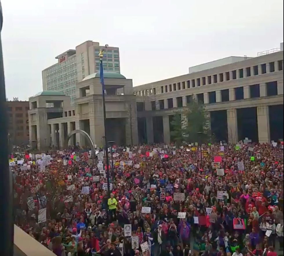 Manifestații de amploare și în Idianapolis