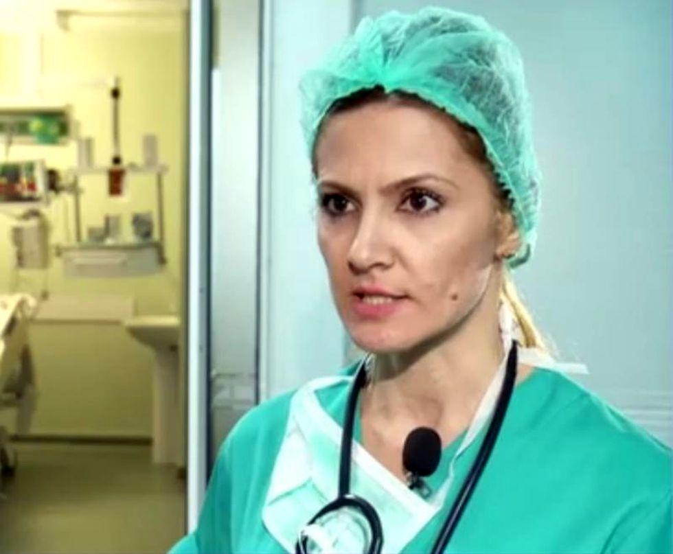 Adriana Nica. Foto: captură Digi 24