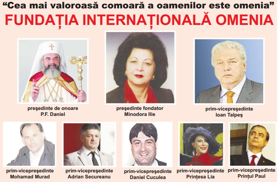 Conducerea fundației Omenia înainte ca prim-vicepreședintele Adrian Secureanu să fie șters de pe site