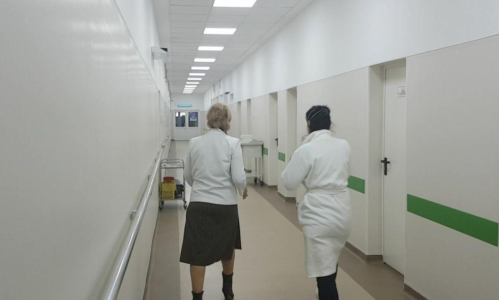 Traseul de protocol a urmat exclusiv zonele renovate de la sediul central.
