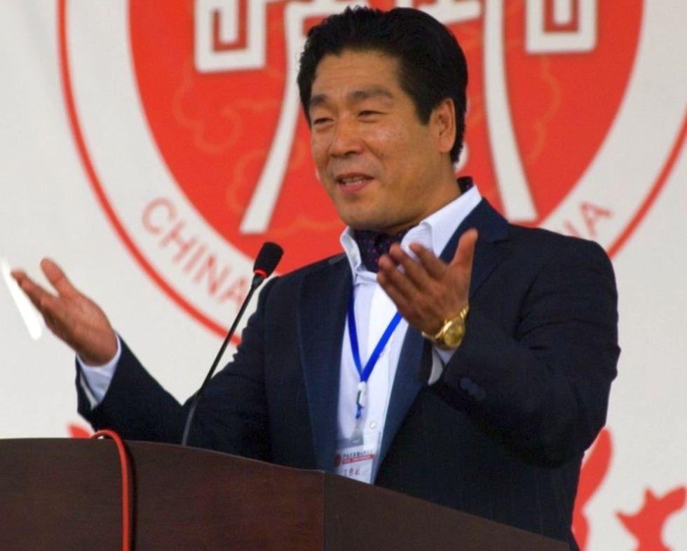 Wang Yan, fost Alexandru Ioan, a inaugurat în 2010 Chinatown