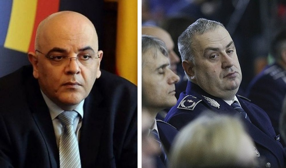 Raed Arafat, șeful SMURD, și chestorul Liviu Vasilescu, șeful Direcției de Operațiuni Speciale a Poliției Române