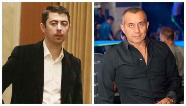 Vlad Cosma (stânga) și Răzvan Alexe
