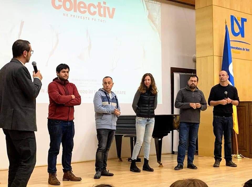 Jurnaliștii GSP&Libertatea, alături de Mihai Grecea și Alexander Nanau
