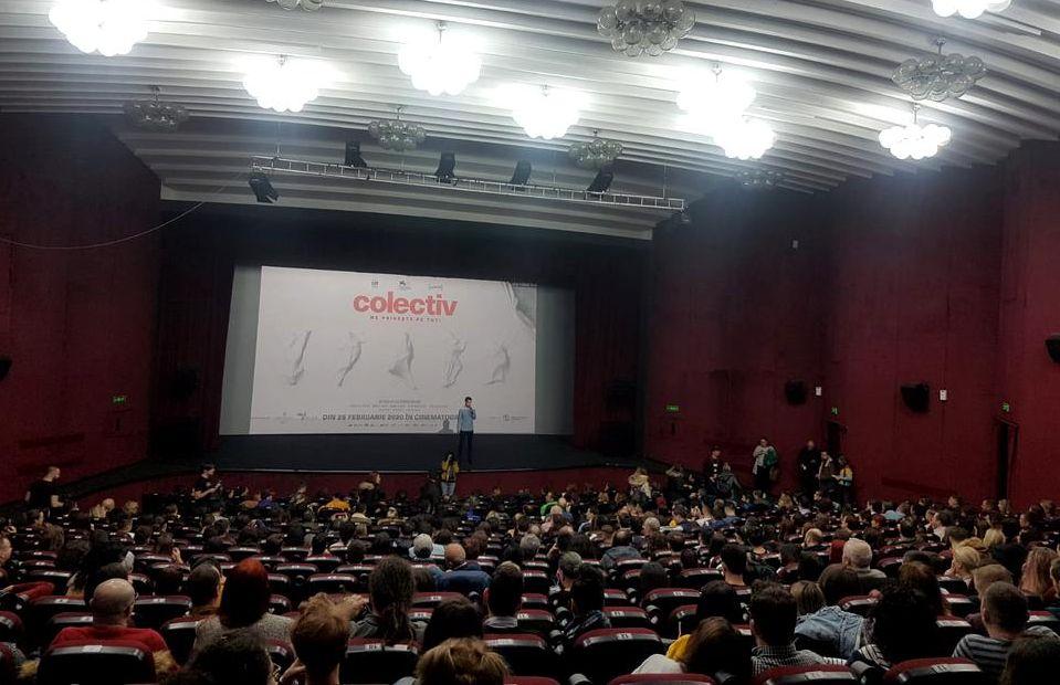 Proiecția filmului Colectiv la Sibiu