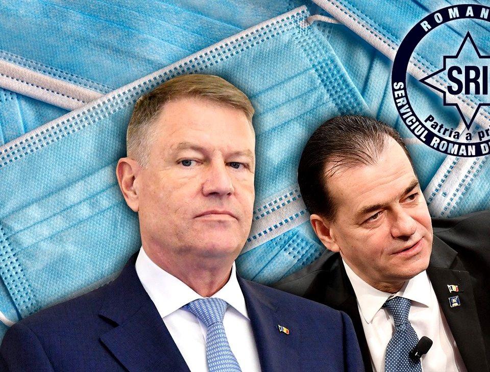 Responsabilitatea Iohannis – Orban – SRI în cazul Unifarm: Când declari  starea de urgență, de ce lași un personaj dovedit coruptibil la cârma  achizițiilor?! - Cătălin Tolontan