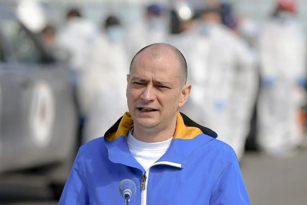Primarul sectorului 4, Daniel Băluță. Foto: Hepta