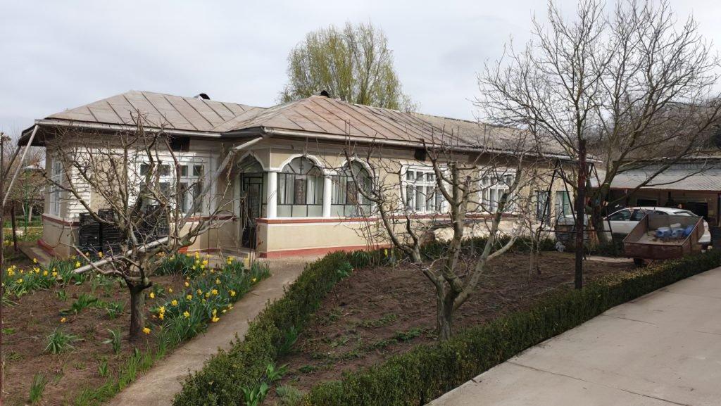 Sediul firmei-paravan SC Romwine&Cofee SRL, din județul Giurgiu. Foto: Recorder