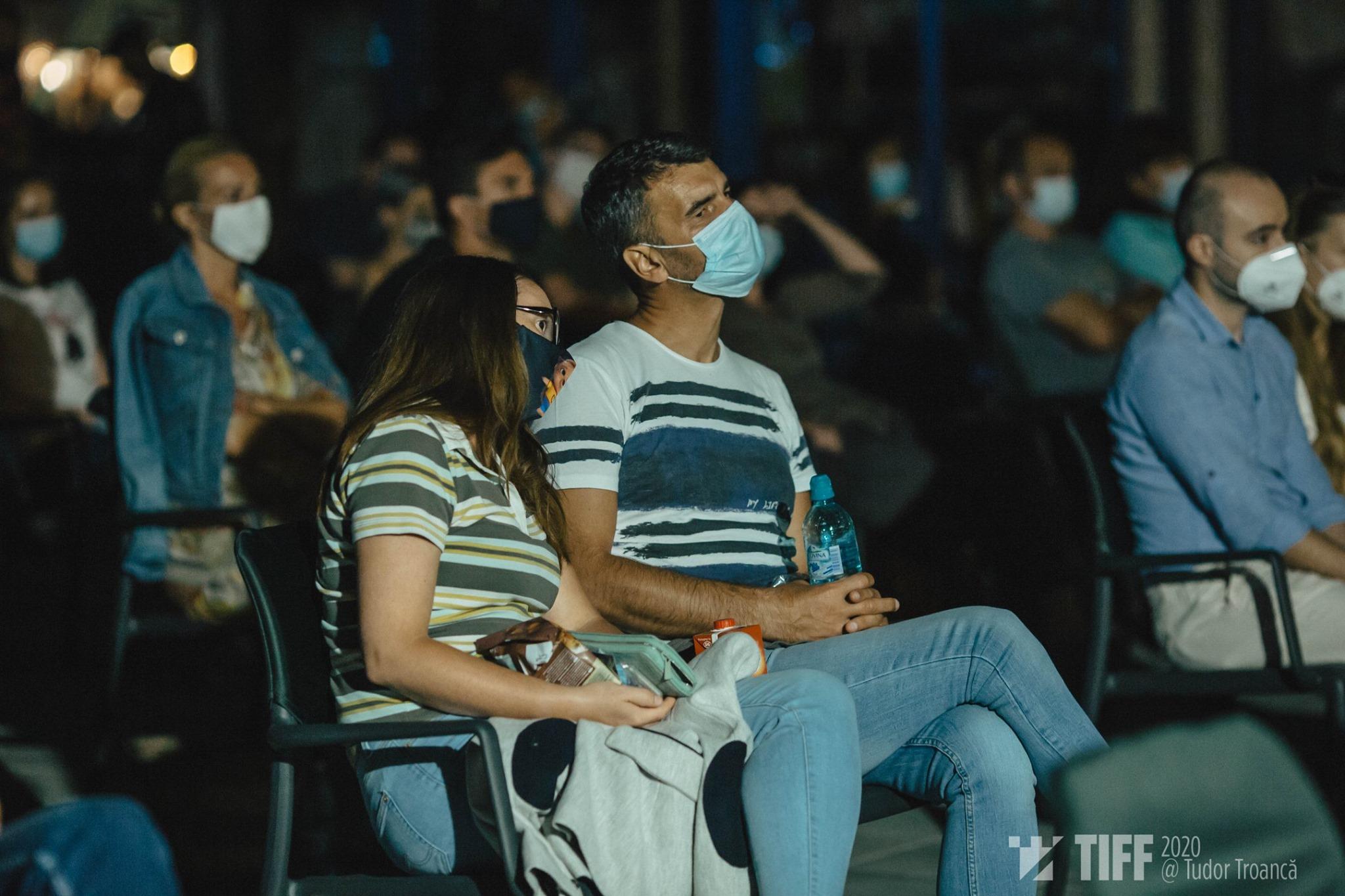 Oamenii au văzut filmul Colectiv la TIFF Sibiu 2020 (foto credit Tudor Troancă)