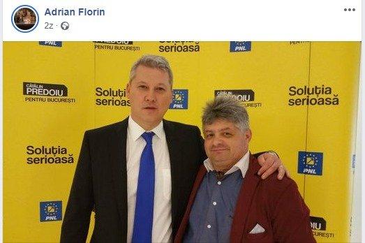 Florin Secureanu a postat fotografia pe contul său de Facebook