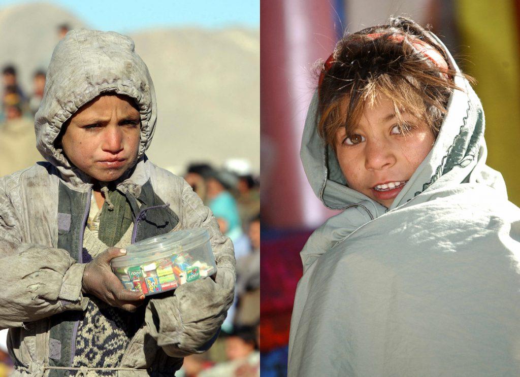 2002: Copii afgani care azi sunt tinerii generației de aproape 30 de ani și care văd reîntoarcerea talibanilor. Foto: Cristi Preda